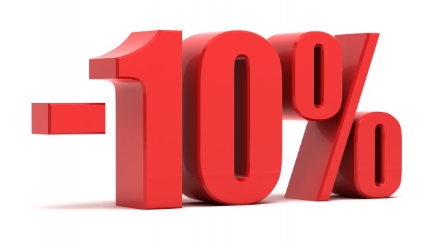 OFFERTA SCONTO 10%